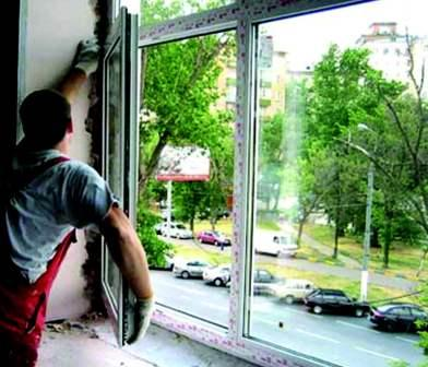 Как вставить окно пвх своими руками